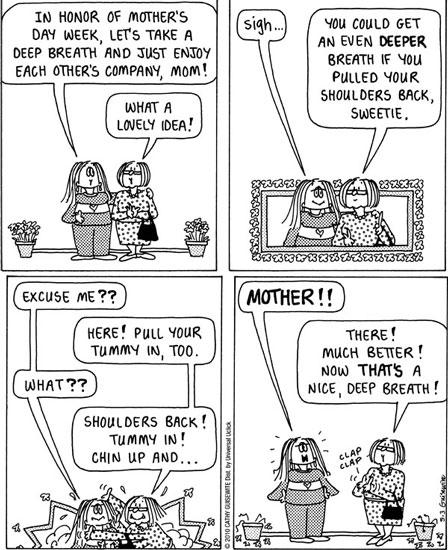 Cathy comic strip finale